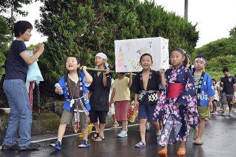 深見の祇園祭(阿南町)