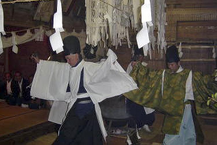 新野の霜月祭り(阿南町)