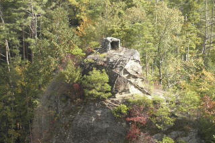 塔の観音展望台(阿南町)