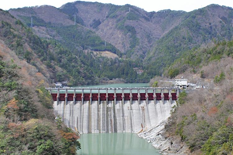 平岡ダム(天龍村)