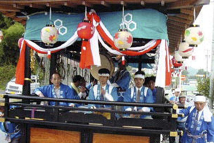 粟野の囃子屋台(阿南町)