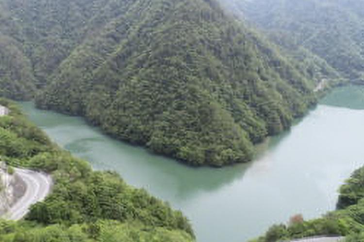 天竜川(天龍村)