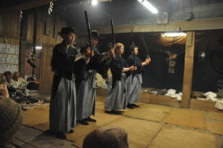 坂部の冬祭り(天龍村)