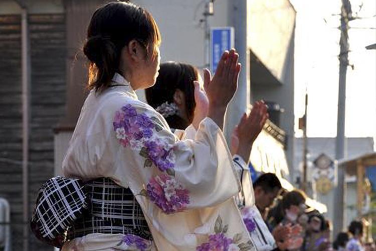 新野の盆踊り(阿南町)