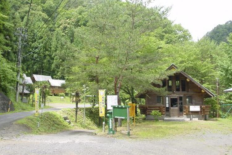 和知野川キャンプ場(天龍村)