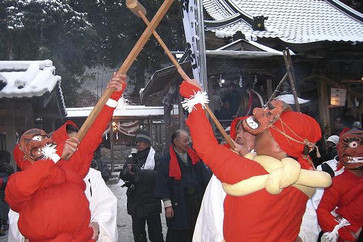 新野の雪まつり(阿南町)