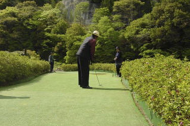 ニセンジ自然公園パター&マレットゴルフ場(天龍村)