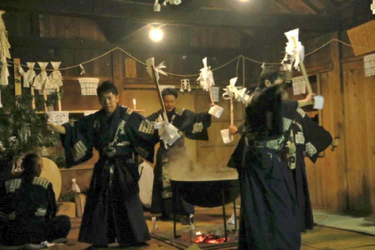 大河内池大神社例祭(天龍村)