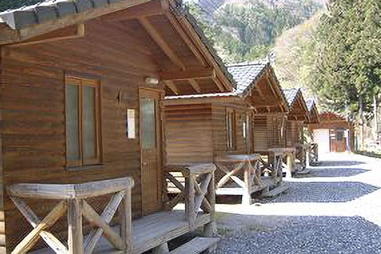 池の島キャンプ場(阿南町)