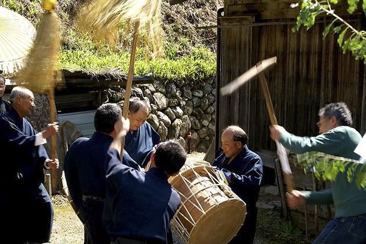 日吉の御鍬祭り(阿南町)